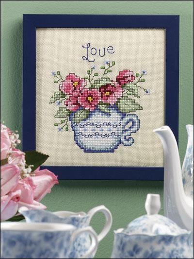 Floral Teacup photo