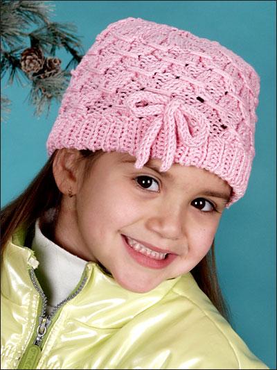 Smocked Ribbons Hat photo