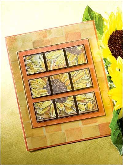 Sunflower Mosaic photo