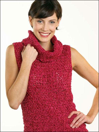 Cowl Neck Sweater photo