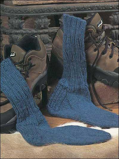 Textured Boot Socks photo