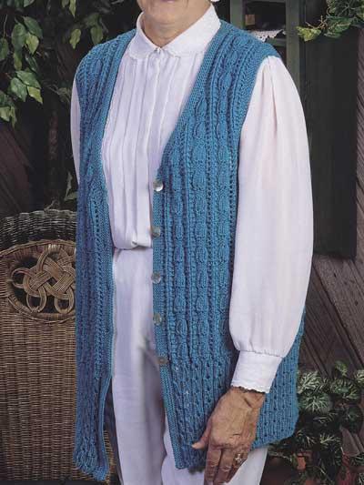 Long & Lean Sweater Vest photo