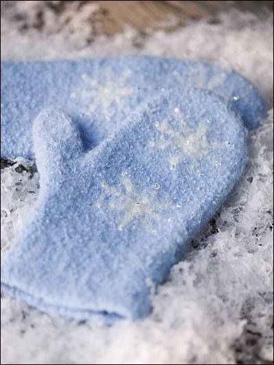 Snowflake Mittens photo