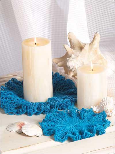Ruffled Candle Mats photo