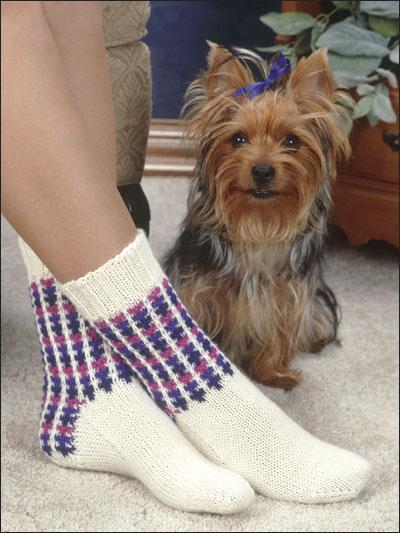 3 & 1 Slip Stitch Socks photo