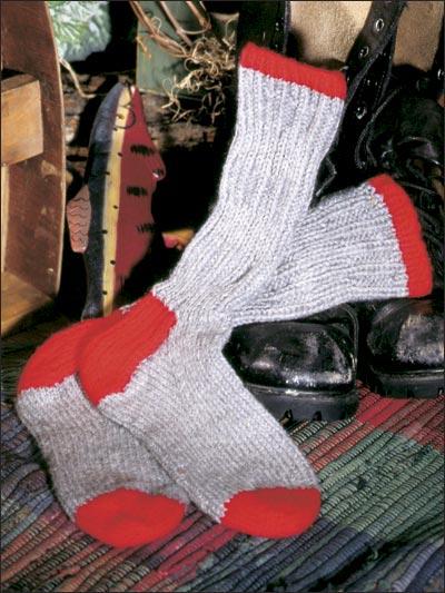 Almost Classic Boot Socks photo
