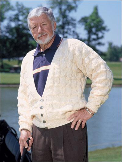 Textured Golf Cardigan photo