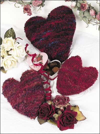 Loopy Heart Pillows photo