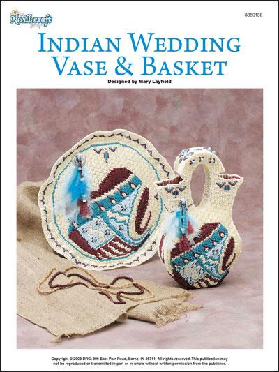 Indian Wedding Vase & Basket photo