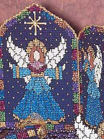 Angel On High - Triptych photo