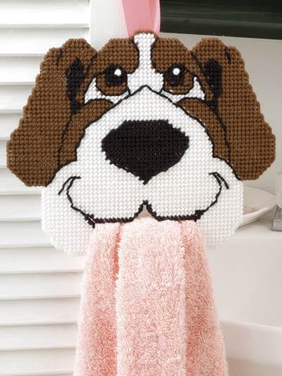Happy Hound Towel Holder photo