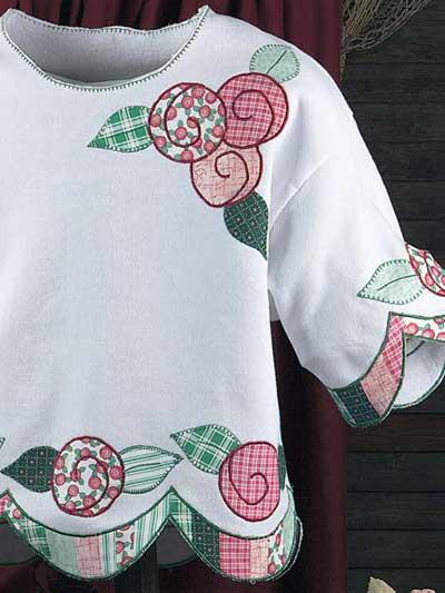 Lollipop Roses Sweatshirt photo