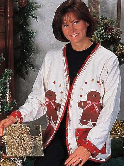 Gingerbread Cardigan photo