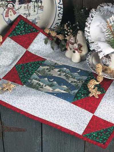 Christmas Night Place Mat photo