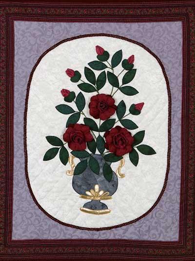 Vase of Roses photo