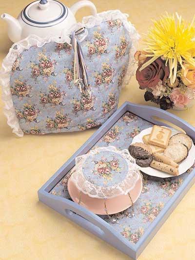 Chintz Tea Cozy Set photo