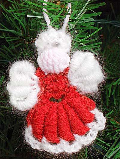Angel Ornament I photo