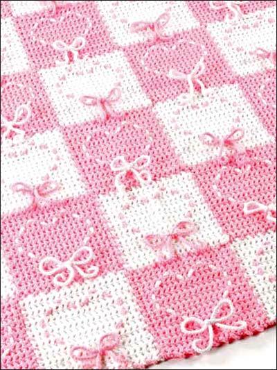 Crochet 'n' Weave - Heart Strings Afghan photo