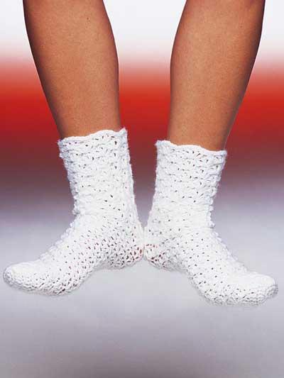 Footloose Lacy Tube Sock photo