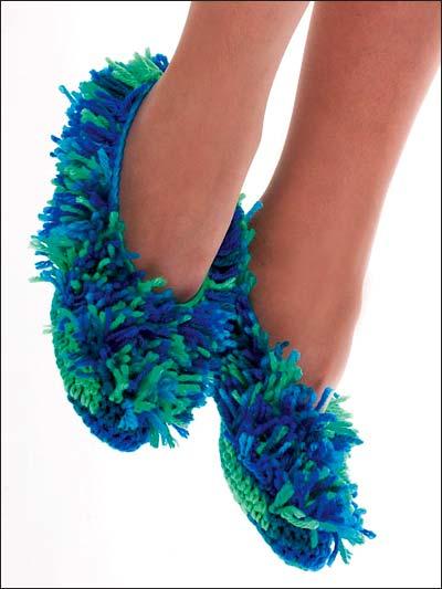 Fuzzy Slippers photo