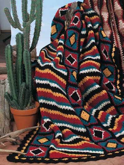 Navajo Diamonds & Stripes photo