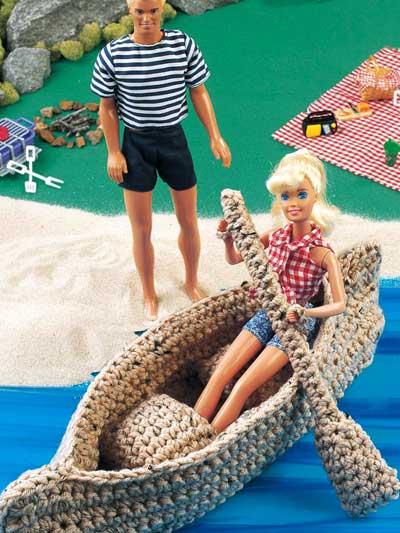 Crochet Canoe photo