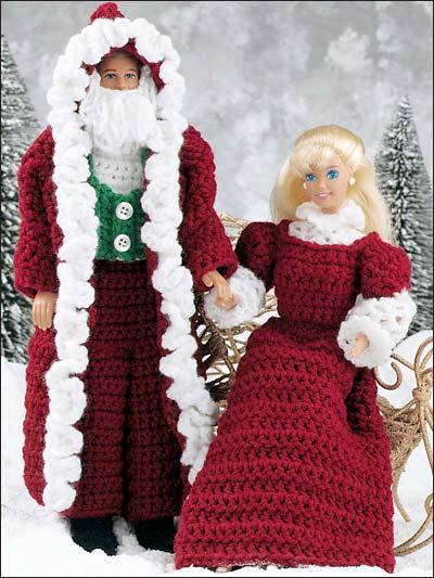 Old World Santa and Mrs. Claus photo