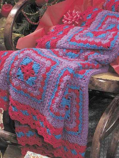 Amish Print Afghan photo