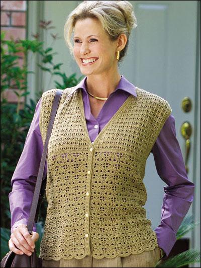 Leaf Lace Vest photo