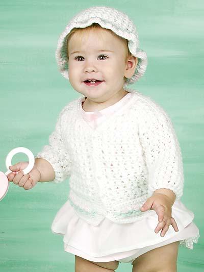 Rosebud Baby Set photo
