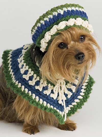 Her Poncho & Hat photo
