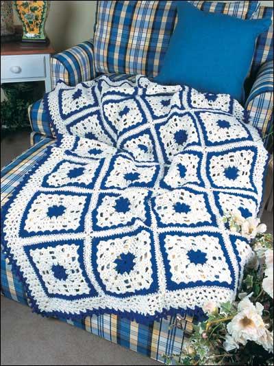 Royal Blue & Soft White photo