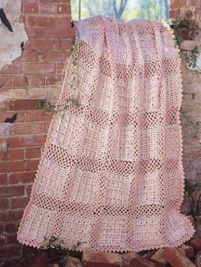 Pastel Bricks Afghan photo
