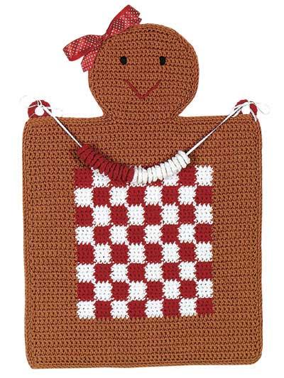 Gingerbread Checkerboard photo