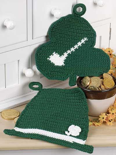 St. Patrick's Day Pot Holders photo