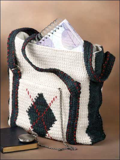 Argyle Tote Bag photo