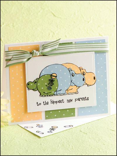 Hippest New Parents Card photo
