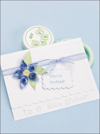 Baby Shower Invitation photo