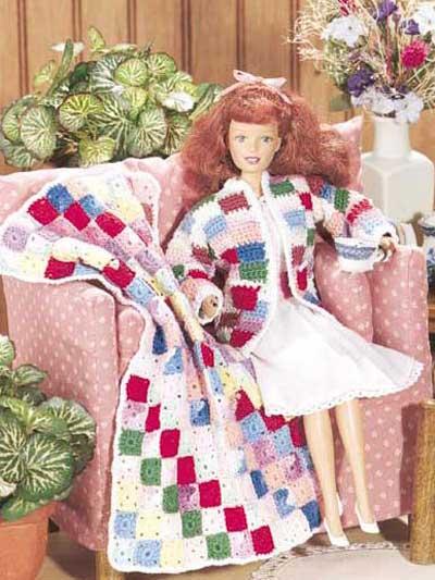 Fashion Doll Patchwork photo