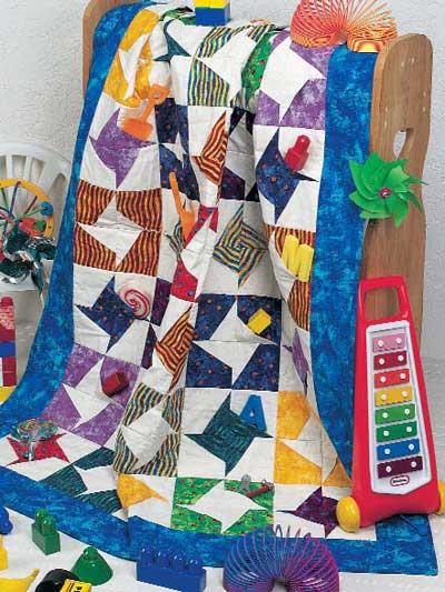 Pocket Pinwheel Quilt photo
