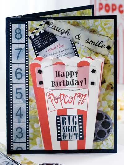 Birthday Popcorn photo