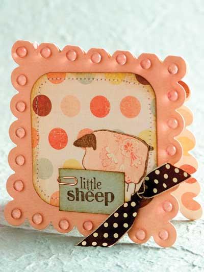 Little Sheep Card photo