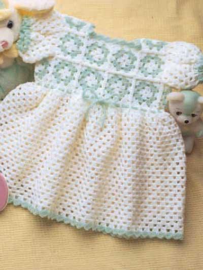 Granny Yoke Baby Dress photo