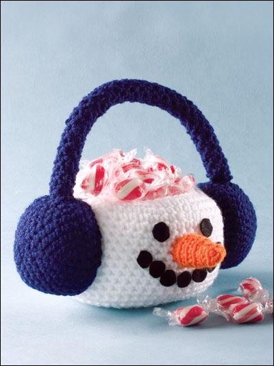 Snowman Basket photo