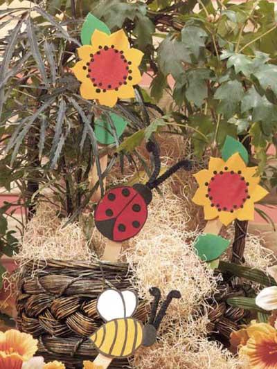 Flower Bug Pokes photo
