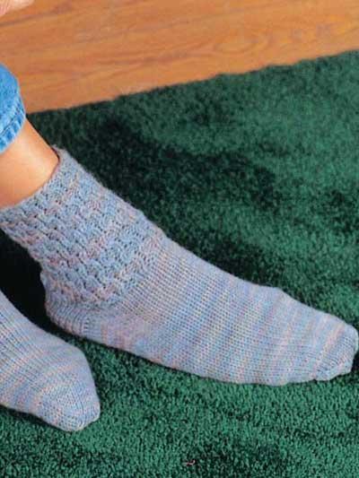 Honeycomb Boot Socks photo