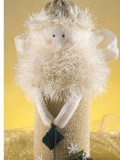 Knitting Angel photo