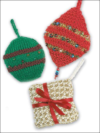 Pearl Cotton Christmas Ornaments photo