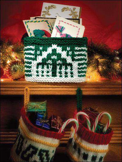 Holiday Mosaic Box & Stockings photo