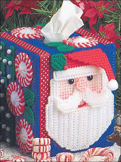 Ho Ho Santa Tissue Box Cover photo